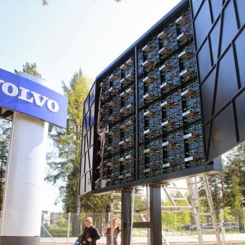 Volvo LED-näyttö